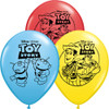 "11"" Toy Story Assortment Latex Balloons"