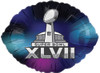 "24"" Superbowl XLVII Mylar Foil Balloon"