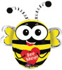 "28"" Buzz'n Bee Shape Mylar Foil Balloon"