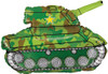 "30"" Army Tank Shape Mylar Foil Balloon"