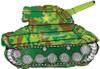 "30"" Army Tank Shape Mylar Foil Balloon"
