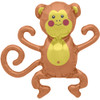 "14"" Mini Monkey Self-Sealing Balloons"