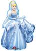 "48"" Cinderella AirWalker Shape Mylar Foil Balloon"