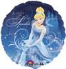 "18"" Cinderella  Mylar Foil Balloon"