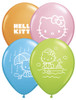 "11"" Hello Kitty Assortment Latex Balloons"