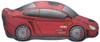 """33"""" Sports Car Shape Mylar Foil Balloon"""