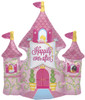 "33"" Castle Happily Ever After Shape Mylar Foil Balloon"