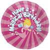 "18"" Magical BIrthday  Mylar Foil Balloon"