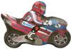 "32"" Motorcycle Fast Shape Mylar Foil Balloon"