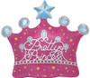 """14"""" Princess Crown Self-Sealing Balloons"""