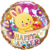 "18"" Easter Basket & Bunny  Mylar Foil Balloon"