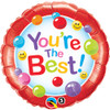 "18"" You're The Best Gumballs  Mylar Foil Balloon"