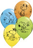 "11"" Snoopy & Woodstock Assortment Latex Balloons"