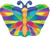 "18"" Tropical Butterfly Junior Shape Mylar Foil Balloon"