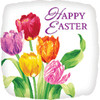 "18"" Easter Tulips  Mylar Foil Balloon"
