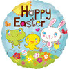 "18"" Hoppy Easter  Mylar Foil Balloon"