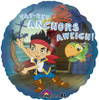 "18"" Jake Anchors Away  Mylar Foil Balloon"