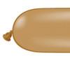 160Q Mocha Brown  Latex Balloons