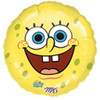 "18"" Smiley SpongeBob Mylar Foil Balloon"