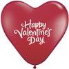 "15"" Valentine's Day Heart Latex Balloons"