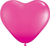 "6"" Fashion Wild Berry Hearts Latex Balloons"