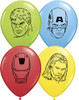 "5"" Avengers Faces Assortment Latex Balloons"