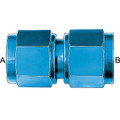 Female Flare Swivel - Aluminum Blue Anodized