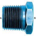 Pipe Bushing (AN 912) - Aluminum Blue Anodized