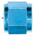 Tube Nut (AN 818) - Aluminum Blue Anodized