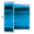 Tube Sleeve (AN 819) - Aluminum Blue Anodized