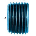 Allen Head Pipe Plug  (AN 932) - Aluminum Blue Anodized