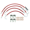"Jeep JK Wrangler 2011-2016 3""-4"" Lift - Stainless Steel Brake Line Kit"