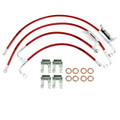 "Jeep JK Wrangler 2011-2016 5""-7"" Lift - Stainless Steel Brake Line Kit"
