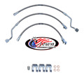 "Ford F-250, F-350 Series 4WD 1999-2000 0""-3"" Lift - Stainless Steel Brake Line Kit"
