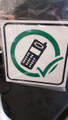 Approved Mobile Phone Sign