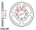 Taotao 428 Rear Sprocket