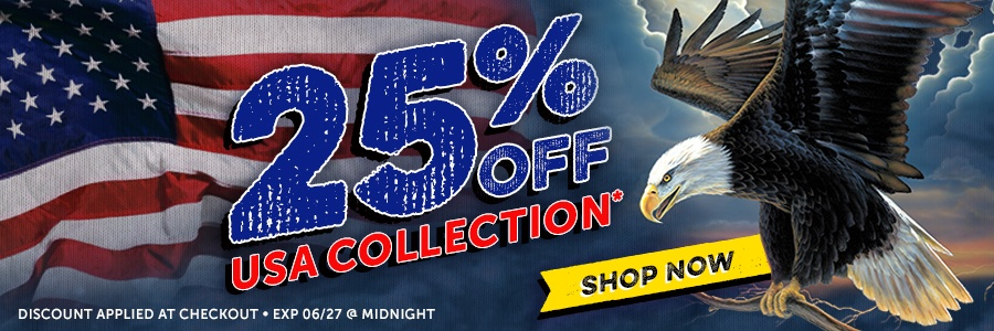 25% Off USA Collection