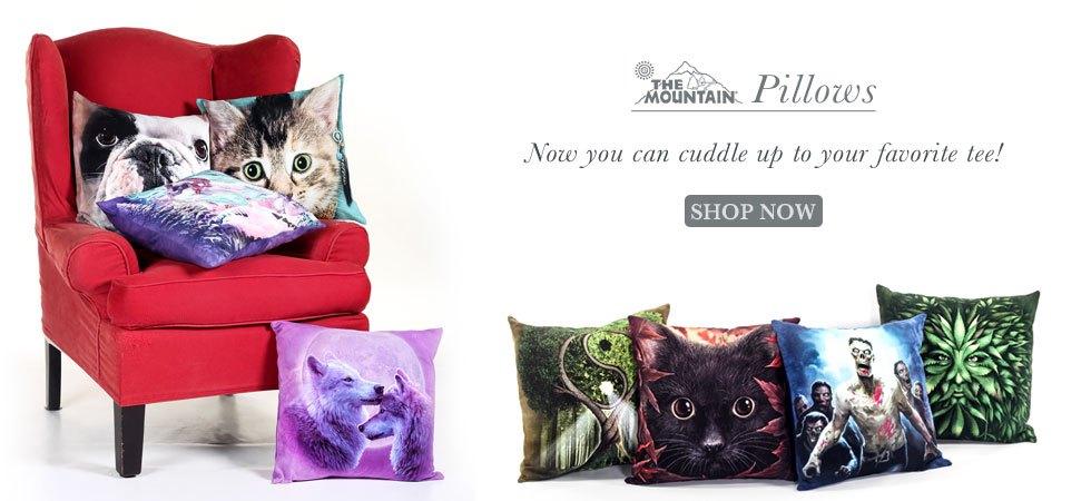 The Mountain Pillows. Shop Now