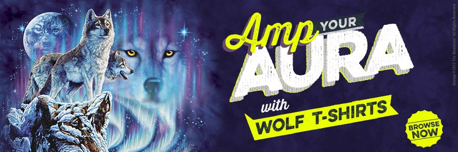 Amp You Aura with Wolf T-Shirts!