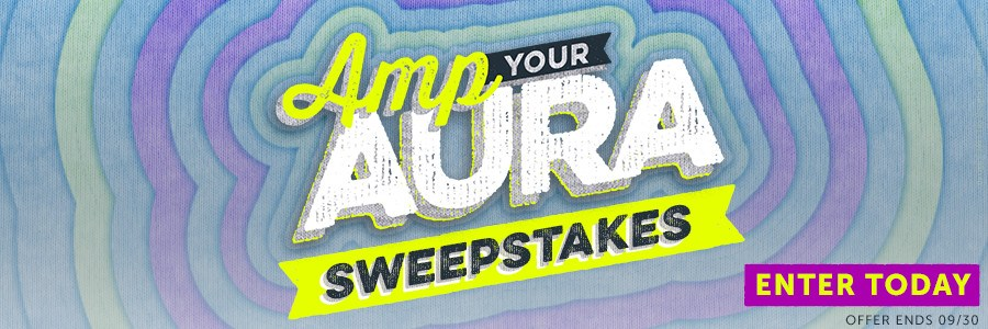 Amp Your Aura Sweepstakes
