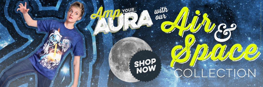 Amp your aura with our Air & Space Collection