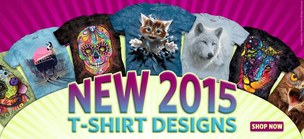 Brand New 2015 T-Shirt Designs