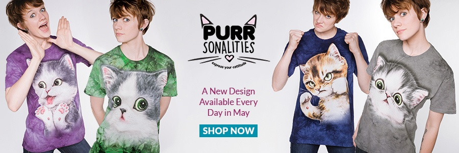 New Collection: Purrsonalities - Express your Cattitude!