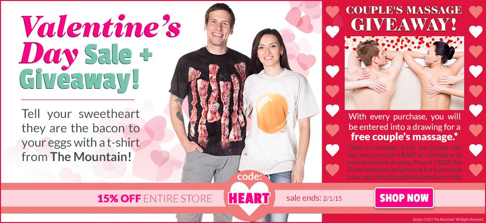 Valentine's Day Sale + Giveaway!