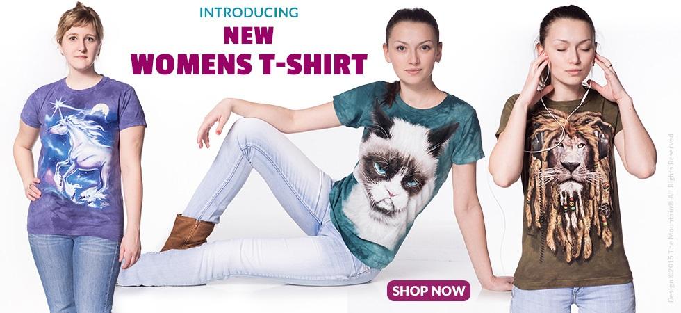 Introducing New Womens T-Shirt