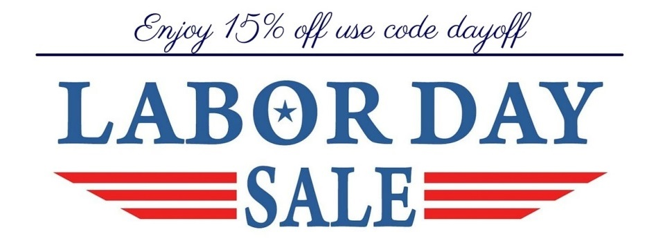 labor day sale 15% off