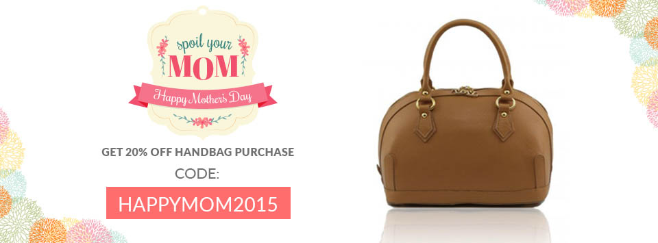 Mother's day 20% off on a gift for mom