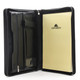 Ultimo Zip Around Pad Cover | Black will hold additional documents , a tablet