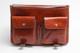 Florence Messenger Bag | Two internal pockets | Color Honey
