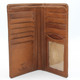 Prima Breast Secretary Men's Bi-Fold Wallet PG409001 | Color Honey | Open